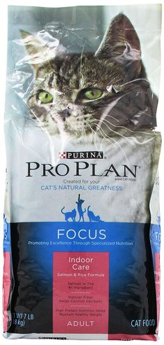 Pro Plan Dry Cat Food, 7 Pound Bag -- Discover this special cat product, click the image : Cat food Pro Plan, Salmon And Rice, Dry Cat Food, Image Cat, Healthy Nutrition, Image Link, Just For You, Amazon, Pets