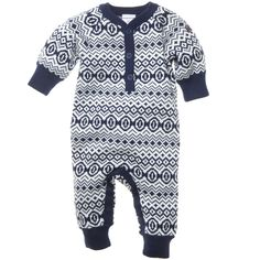 fair isle newborn romper - got this for our little one.