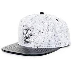 79664faec26 Rook Drip Skull Black Snapback Hat
