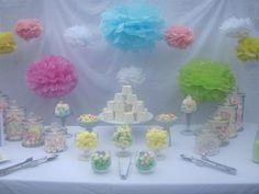 Pastel Candy Buffet