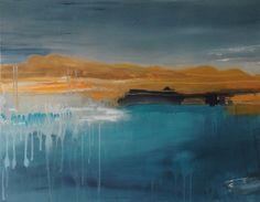Claudia Grutke, across the harbour on ArtStack #claudia-grutke #art SOLD