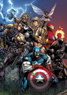 The Ultimates by David Finch