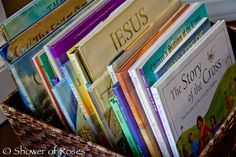 Shower of Roses: Our Lent & Easter Book Baskets