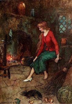 Cinderella. Warwick Goble