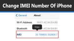 check out how to change IMEI Of Iphone in 2017 http://gadgetteacher.com/change-imei-iphone/