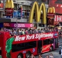 Giro turistico in autobus gli Hop-on Hop-off New York