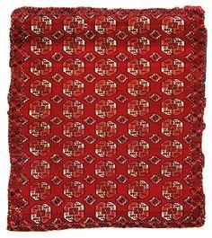 Saryk Turkmen main carpet, 18th century or earlier, estimate €22,000-28,000