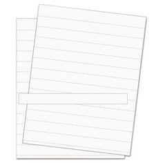 Data Card Replacement Sheet, 8 1/2 X 11 Sheets, White, 10/pk