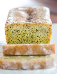 Lemon and Poppy Seed Drizzle Cake