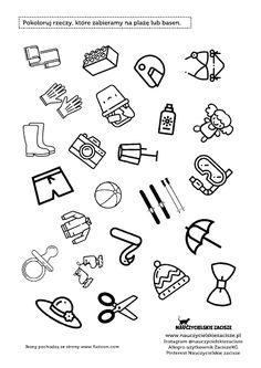 Wakacje Lato karty pracy edukacja wczesnoszkolka przedszkole Coloring Pages, Kindergarten, Preschool, Therapy, Lily, Education, Summer, Blog, Speech Language Therapy