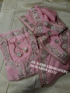 Hand Embroidery, Embroidery Designs, Designer Punjabi Suits, Stitching, Youtube, Costura, Stitch, Sew, Youtubers