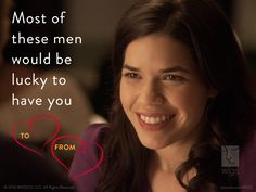 Need a little support this #ValentinesDay? #Christine is here for you.  #AmericaFerrera #WIGSValentines   Watch Christine now: http://www.hulu.com/christine
