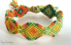 Photo by Added by Discord Friendship bracelet pattern 8489