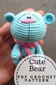 cute crochet bear