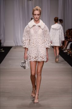 Ermanno Scervino Spring 2015 Ready-to-Wear - Collection - Gallery - Look 1 - Style.com