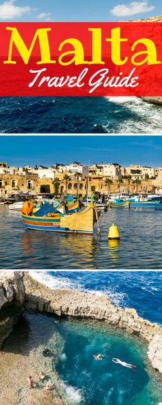 Malta Travel Guide: what to do in Malta, where to stay in Malta, what to pack for Malta & more!