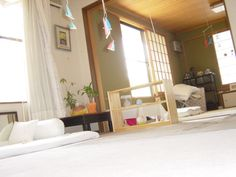beautiful montessori inspired baby's room