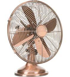 PRINCESS Retro Copper Table Fan ~ Love This Copper Fan!