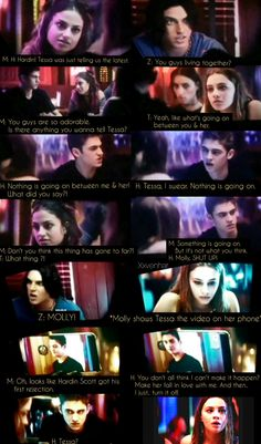 After passion movie, the bet scene as the whole scene dialogues Hardin Tessa Zed Molly Love Movie, Movie Tv, Love Of My Life, In This World, Books Turned Into Movies, Indiana Evans, Movie Dialogues, Hardin Scott, After Movie