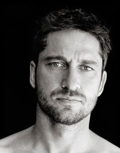 "Gerard Butler by  Richard Phibbs - ""Manscaping and all of that is not my thing. I'm more of the Clint Eastwood kind of guy."""