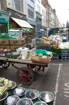 Berwick Street Market has been selling fresh fruit and vegetables, fish, herbs and cheese since 1840. The market traders still shout their wares and many offer big discounts late in the afternoon.