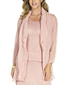 Look what I found on #zulily! Chateau Rose Open Cardigan - Women & Plus by ROSSI ROMA #zulilyfinds