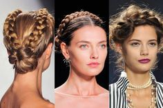 10 braids to try this spring.  #braids