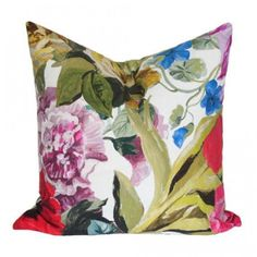 Lead time for this custom pillow cover is: 1-3 weeks As seen in HGTV Magazine Fabric Details:100% cotton Choice of...