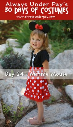 Win this minnie mouse outfit/costume.