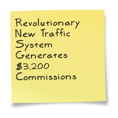 Revolutionary New Traffic System Generates $3,200 Commissions ==>  http://www.easiestsalessystem.com/lp/mrhomebiz1