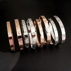 Woman Cross Love Bracelets Bangles With Screwdriver Lovers