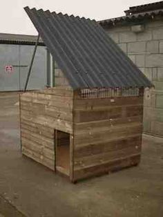 isis duck house with roof up - not diy but a cool design. Backyard Ducks, Chickens Backyard, Building A Chicken Coop, Diy Chicken Coop, Duck Pens, Duck Duck, Goose House, Muscovy Duck, Duck Coop