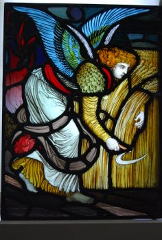 Shrigley and Hunt stained glass panel, c1880.