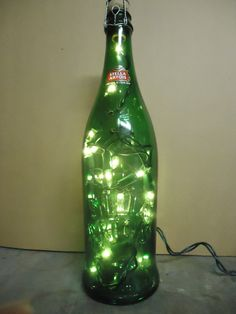 Stella Artois 750 ml Bottle Light.. Embossed front Stella Artois logo..