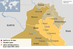 Iraq war page Map Pictures