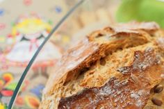Chleb mieszany z jabłkiem - World Bread Day 2013 Home Bakery Business, Lemon Curd, Iced Tea, Catering, Grilling, Keto, Bread, Baking, Food