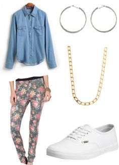 Cher Lloyd inspired but i would actually wear this myself, minus the jewelry