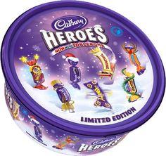 Cadbury Heroes Chocolate Tub, 660 g Cheap Chocolate, Luxury Chocolate, Chocolate Heaven, Chocolate Treats, Cadbury Dairy Milk, Christmas Chocolate, Christmas Treats, Cadbury World
