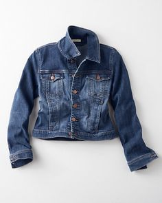 Crafted in the USA, this classic denim jacket by Eileen Fisher is the sartorialist's secret to looking nonchalant. Light enough for the warmer seasons, it transitions easily as a casual layer come fall.