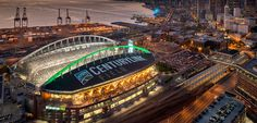 27 American sports venues that can't possibly disappoint in person Seattle Washington, Washington State, Jr Sports, Centurylink Field, Soccer Stadium, Evergreen State, Seattle Area, American Sports, Emerald City
