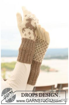 Вязание спицами перчаток схемы