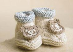 Bamsesko - Strik til børn - Håndarbejde og strikkeopskrifter - Familie Journal