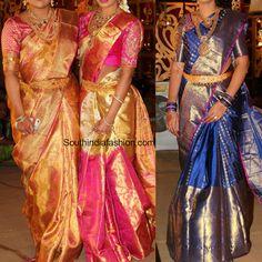 Kanjeevaram Silk Saree Styles