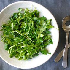 Pea Shoot and Baby Arugula Salad with Meyer Lemon Vinaigrette recipe on Food52