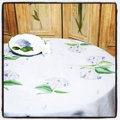 Table hortensia