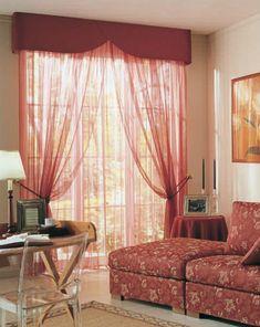 Kolejnice a garnýže Mottura Curtains, Home Decor, Blinds, Decoration Home, Room Decor, Interior Design, Draping, Home Interiors, Net Curtains