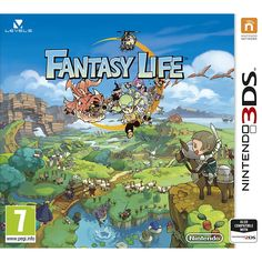 Fantasy Life 3DS- Excited to try this game soon!