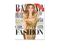 Sarah Jessica Parker veste Marc Jacobs na capa da september issue da Harper's Bazaar US - Foto: Reprodução