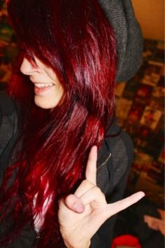 If anyone knows how to get this particular shade of red. It would be appreciated.  :)