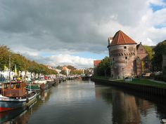 OLD GRAIN SILO IN ZWOLLE PROVINCE CAPITAL OF OVERIJSSEL, NETHERLANDS
